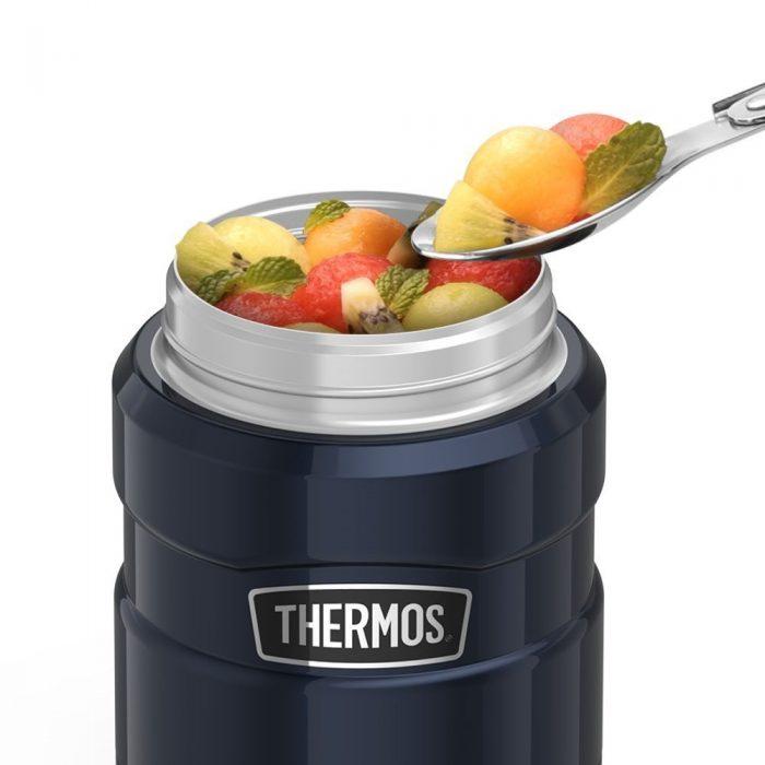 THERMOS 450ml膳魔师经典帝王不锈钢系列保温焖烧午餐罐 25.95加元,原价 29.99加元