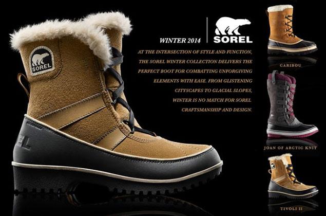 加拿大冰熊雪地靴 Sorel黑五特卖,全场 7.5折优惠+包邮!
