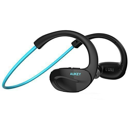 AUKEY蓝牙入耳式运动耳机(3色) 14.99-16.99加元,原价 23.99元