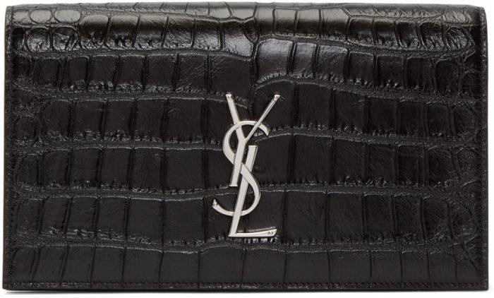 Saint Laurent黑色手拿包 1311元,原价 1580元,包邮