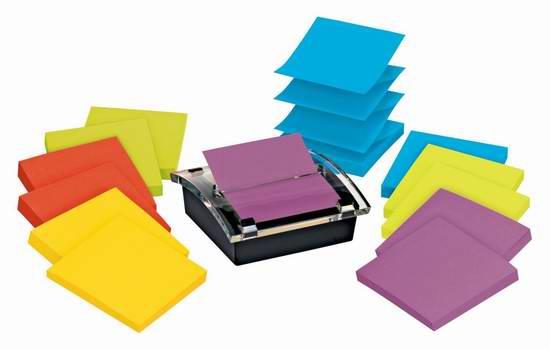 历史新低!3M Post-it Notes 3 x 3英寸报事贴/便签贴(12x90张)5折 16.99元限时特卖!