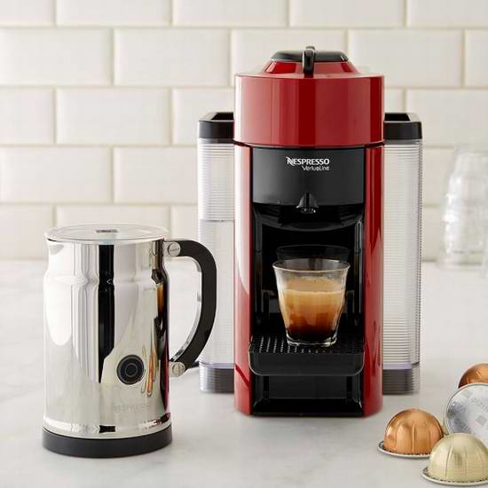 Nespresso VertuoLine 咖啡机及奶泡机套装 202.49加元限时特卖并包邮!5色可选,附送的奶泡机价值99.95加元!