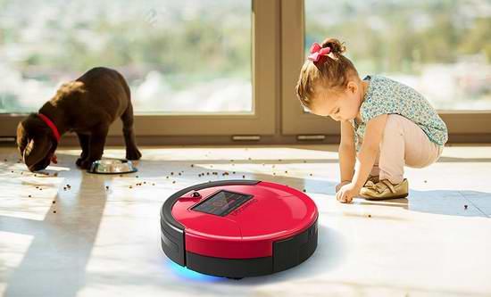 售价大降!历史新低!bObsweep PetHair 宠物版智能扫地拖地杀菌机器人4.8折 244.99元限时特卖并包邮!