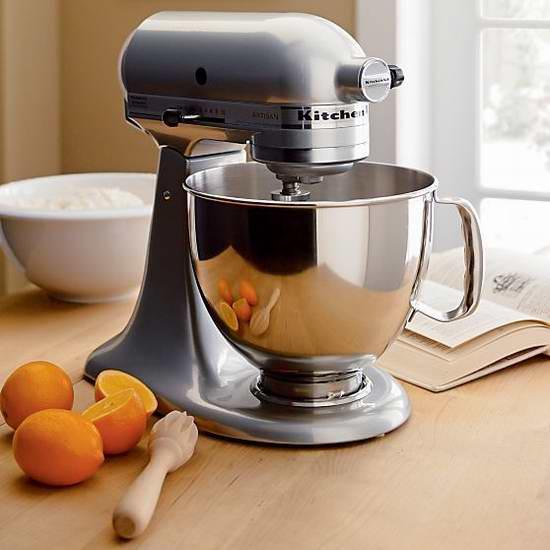 KitchenAid KSM120MC 4.5夸脱多功能厨师机5.8折 279.99加元包邮!