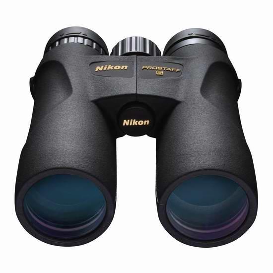 历史新低!NIKON 尼康 7571 PROSTAFF 5 10X42 全功能双筒望远镜 199.99元限时特卖并包邮!