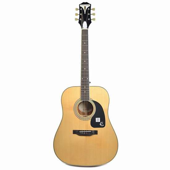历史新低!Epiphone Pro-1 Plus 原声吉他3.6折 129.99元限时特卖并包邮!