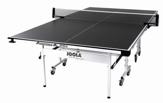 历史新低!JOOLA 德国优拉 Rally TL 300 折叠式乒乓球桌5.2折 369.99元限时特卖并包邮!