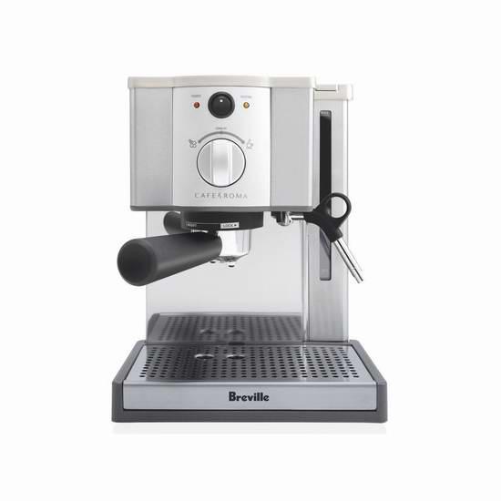 Breville Café Roma Espresso ESP8XL 意式咖啡机 159.99加元包邮!