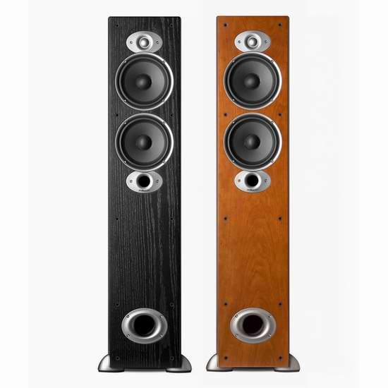 历史最低价!Polk Audio 普乐之声 RTI A5 豪华落地式音箱5.3折 299.99元限时特卖并包邮!两色可选!