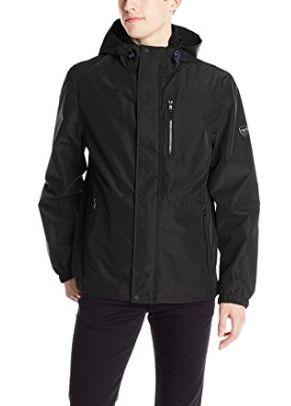 Calvin Klein 男士防水防风带帽夹克2.4折 63.6元限时清仓并包邮!三色可选!