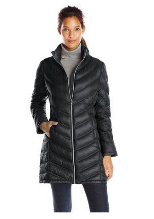 Calvin Klein 女式时尚中长羽绒服2.3折 76.5元起限时清仓并包邮!多色可选!
