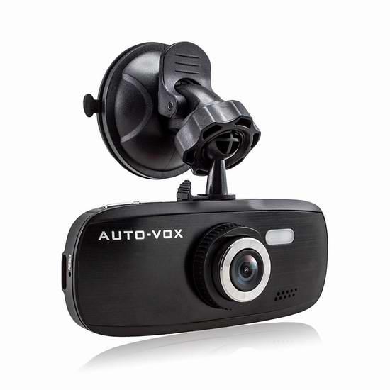 I-Max G1W 2.7寸屏超大广角1080P高清行车记录仪 68.84加元限量特卖并包邮!