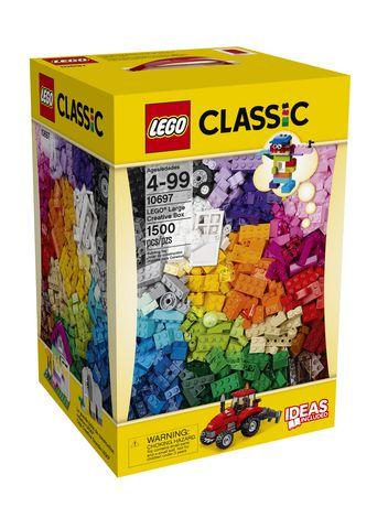 快抢!LEGO 乐高 经典系列 10697 大型创意箱积木套装(1500pcs)仅售40元!