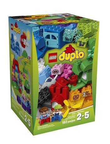 快抢!LEGO 乐高 经典系列 10622 得宝 大型创意箱(103pcs)仅售40元!