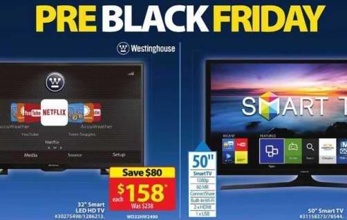 Walmart 黑色星期五预卖开售!大量商品特价销售!