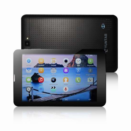 Yuntab K08 7英寸解锁版3G平板手机 63.74加元限量特卖并包邮!