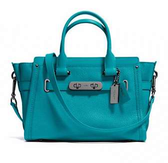 COACH Swagger 女士时尚真皮单肩/手提包5.6折 315元限时特卖并包邮!