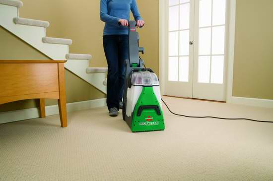 Today only: 9.99(was 9.99) Bissell 86T3 Big Deep Cleaning Machine Professional Grade Carpet Cleaner (Green)