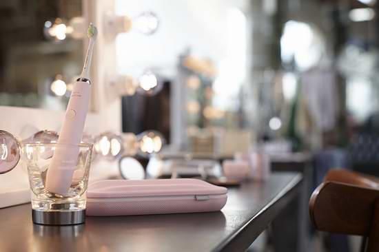 近史低价!Philips 飞利浦 Sonicare DiamondClean 钻石亮白系列智能电动牙刷 154.99加元包邮!3色可选!