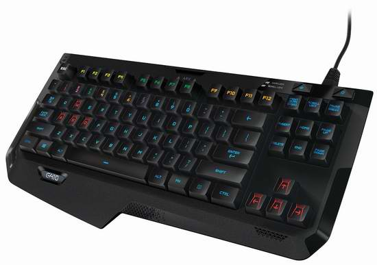 历史最低价!Logitech 罗技 920-007731 G410 机械游戏键盘 59.99加元限时特卖并包邮!