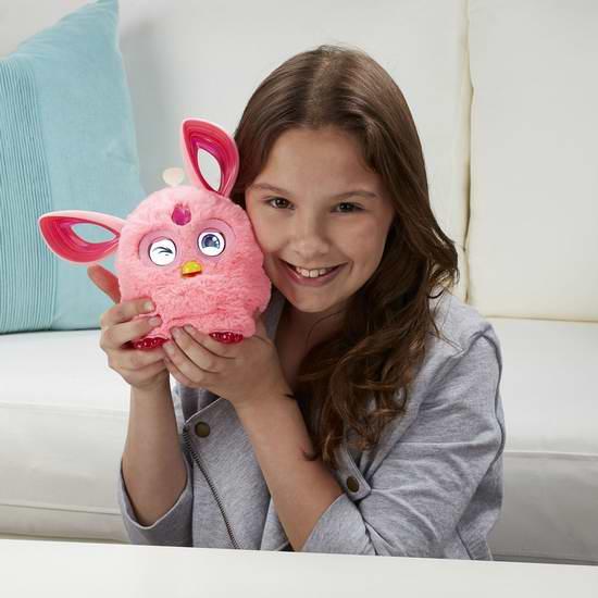 历史最低价!最新版 Hasbro 孩之宝 Furby Connect 智能互动菲比小精灵2.9折 39.93加元限时特卖!4色可选!