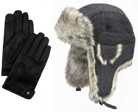 精选203款 Calvin Klein、Levi's、Tommy Hilfiger 等品牌男式时尚手套、帽子、围巾等全部5折限时特卖!