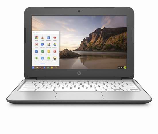 历史新低!HP Chromebook 11.6英寸笔记本电脑 235.98元限时特卖并包邮!