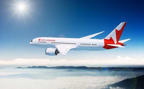 Air Canada 加航 加拿大境内及飞往美国航线机票全面8.5折!