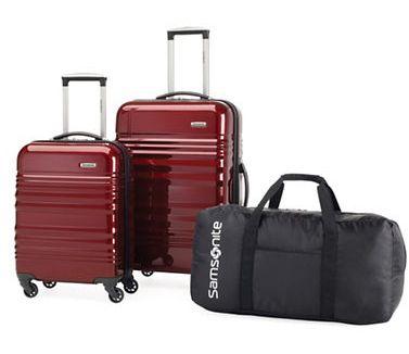 白菜价!历史新低!精选7款 Samsonite 新秀丽 硬壳/软壳 拉杆行李箱3件套1.8折 112.49加元限时特卖!