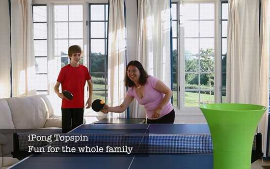 iPong Topspin 乒乓球发球机 70.43元限时特卖并包邮!
