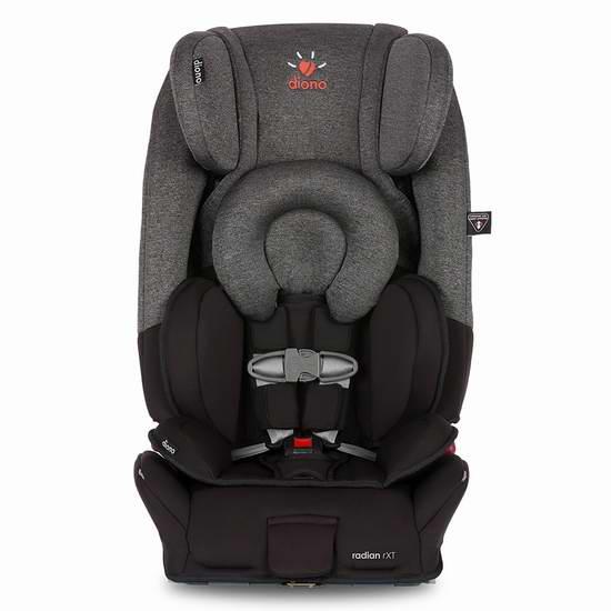 历史新低!新款 Diono 谛欧诺 Radian RXT 成长型儿童汽车安全座椅 299.97元限时特卖并包邮!