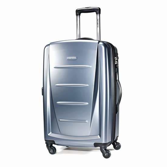 Samsonite 新秀丽 Winfield 2 24寸 宝石蓝 全PC超轻拉杆行李箱1.2折 67加元包邮!两色可选!