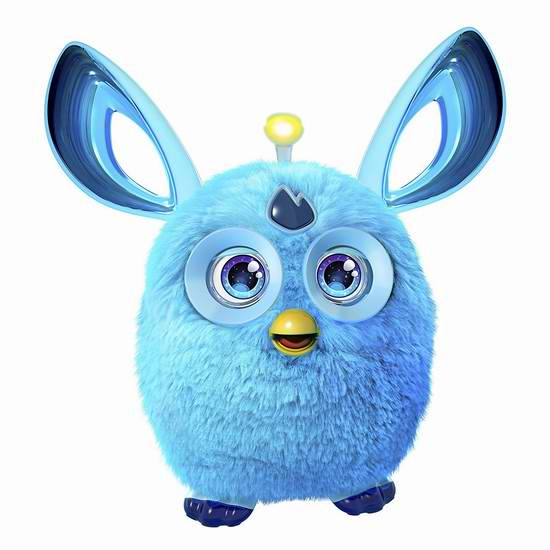 史低价,速抢!最新版 Hasbro 孩之宝 Furby Connect 智能互动菲比小精灵2.9折 39.93元限时特卖并包邮!