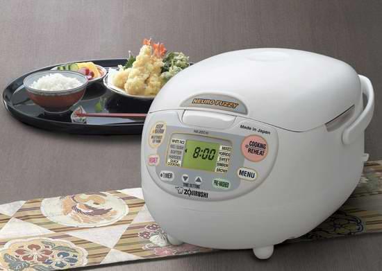 销量冠军!Zojirushi 象印 NS-ZCC10 多功能智能电饭煲 176.99加元包邮!会员专享!