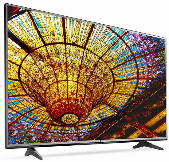 历史新低!LG 55UH6150 55英寸 4K超高清智能电视(2016版)5.5折 712.47加元限时特卖并包邮!
