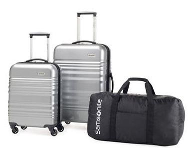 Samsonite 新秀丽 硬壳拉杆行李箱3件套1.9折 119.99-127.49加元限时特卖并包邮!
