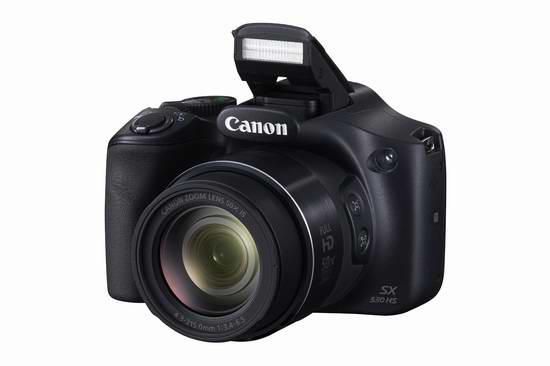 历史新低!Canon 佳能 PowerShot SX530 HS 50倍变焦数码相机5.3折 249元限时特卖并包邮!