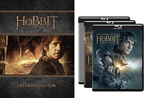 历史最低价!The Hobbit Trilogy Extended Edition 霍比特人三部曲加长版(蓝光/DVD) 43.99-47.99元限时特卖并包邮!