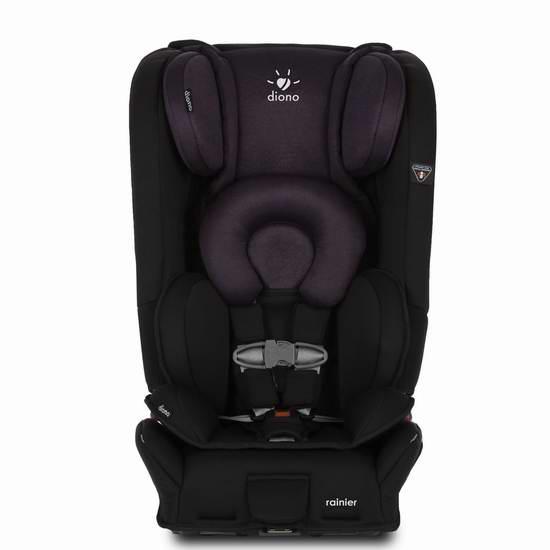 新款 Diono 谛欧诺 Rainier 成长型儿童汽车安全座椅 365.49加元限时特卖并包邮!三色可选!