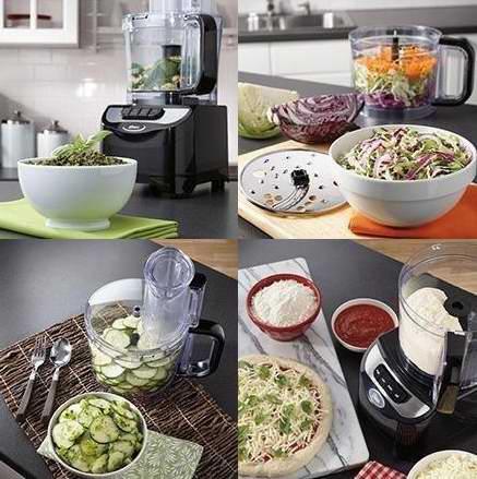 历史新低!Oster FPSTFP1355-033 10杯量食物料理机/搅拌机6.2折 49.88元限时特卖并包邮!