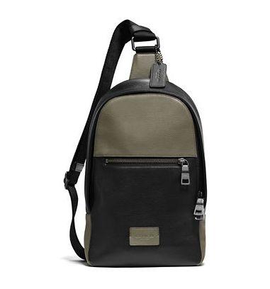 COACH Pebbled 时尚真皮休闲校园风单肩背包3.7折 131.25元限时特卖并包邮!