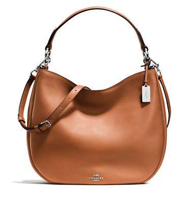 白菜价!COACH Nomad Hobo 女式时尚真皮手提/单肩包3.7折 213.75元限时特卖并包邮!
