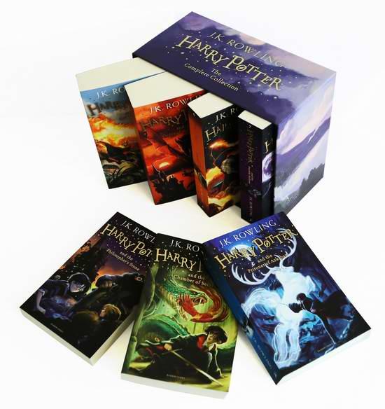 Harry Potter 哈利波特(1-7)合集儿童版5.6折 58.99加元包邮!