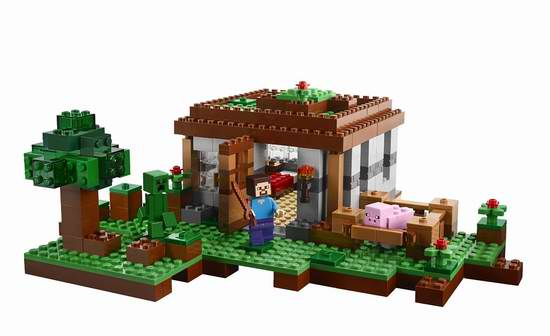LEGO 乐高 21115 我的世界系列 初夜沙盒积木套装(408pcs) 34.9元限时特卖!