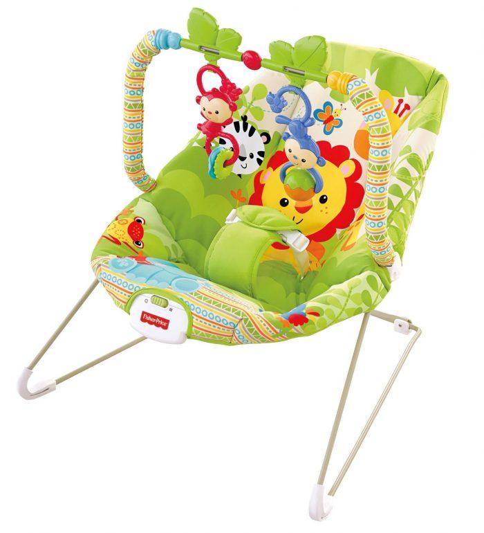 历史最低价!Fisher-Price 费雪宝宝轻便安抚摇椅 26.99元,原价 49.99元