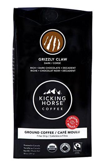 有机咖啡!Kicking Horse Coffee研磨咖啡 8.54加元,原价 16加元