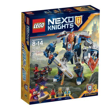 LEGO 70327 Nexo Knights 骑士团系列 王者巨型战斗机甲 27.9元清仓特卖,原价 39.86元