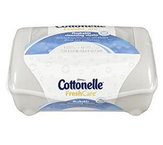 Cottonelle Freshcare 可溶解湿巾纸  1.32元,原价 3.99元