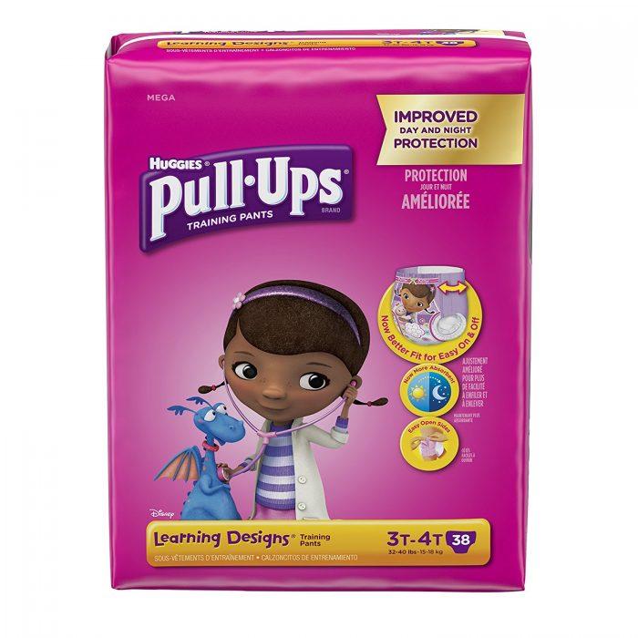 多款历史最低价!精选Huggies Pull-Ups 幼儿如厕训练裤 折上折优惠!