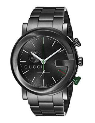 历史最低价!Gucci 古驰YA101331 G-Chrono 男士自动机械腕表 1214元,原价 2200.84元,包邮